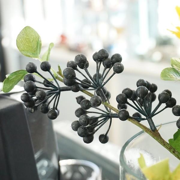 造花 ベリー M ブラック01