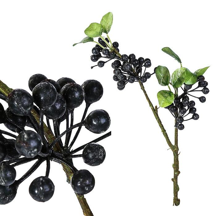 造花 ベリー M ブラック04