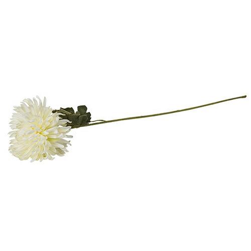 造花 菊 M ホワイトL