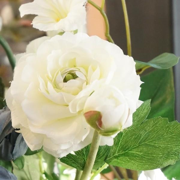 造花 キンポウゲ ホワイトM