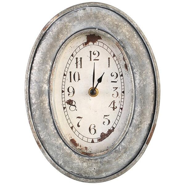 時計 オーバル クロック