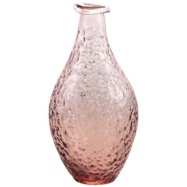 花瓶ガラスピンクLサイズお花インテリア一輪挿し生け花