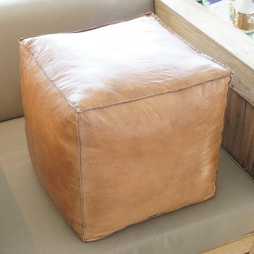 家具 茶色 四角 レザー 椅子