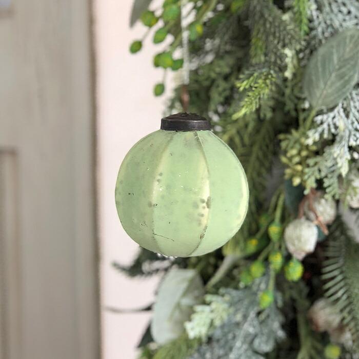 FAIRY マローガラスボール Sサイズ グリーン