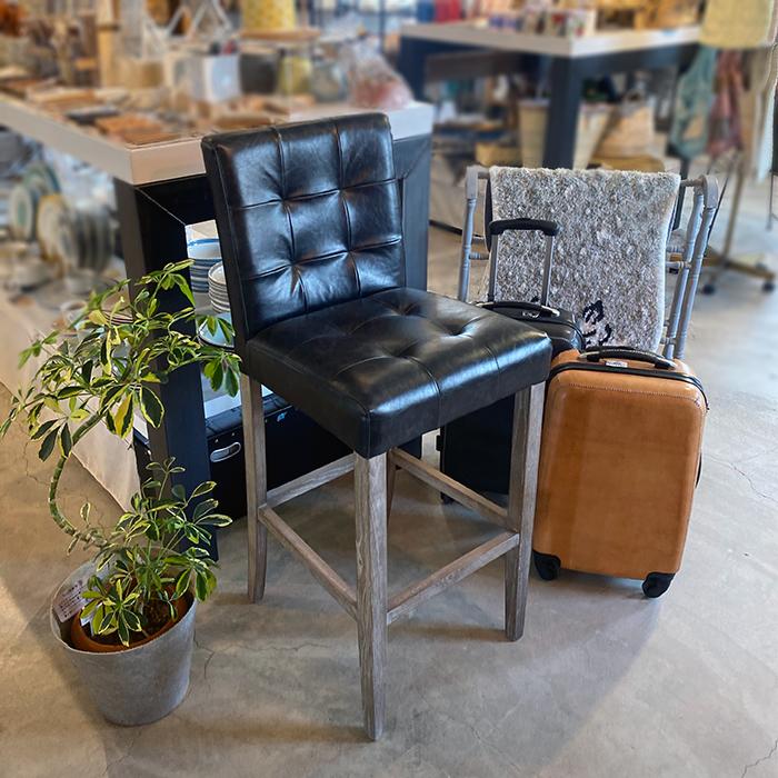 椅子チェア黒ブラックレザー