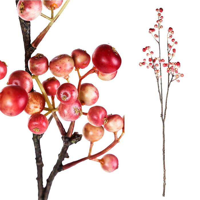 造花 ベリー L ピンク