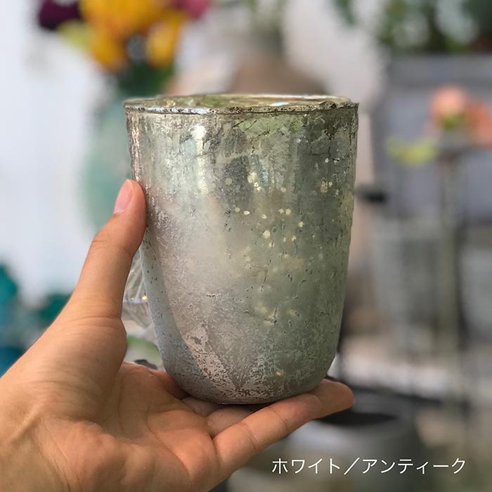 キャンドルスタンド ガラス Sサイズ 白 ホワイト05