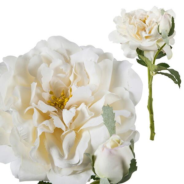 造花 バラ ローズホワイト