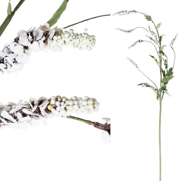 造花 ラベンダー ホワイト