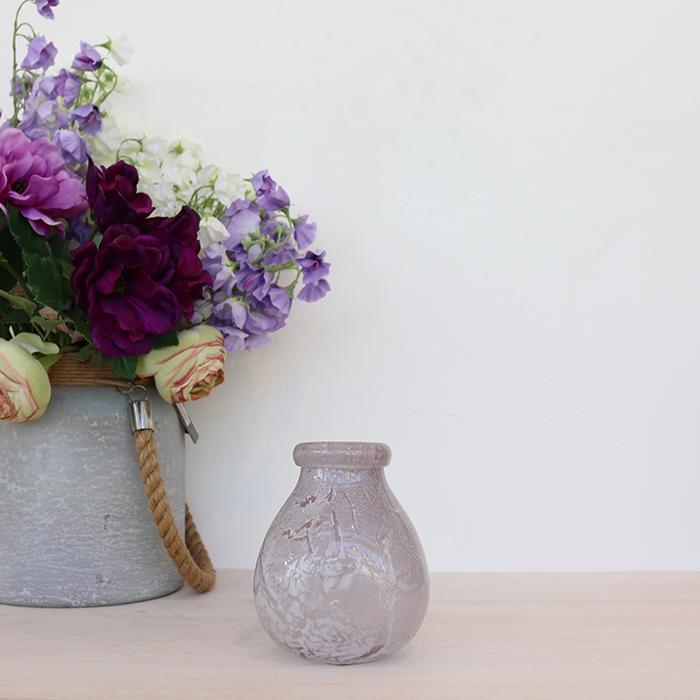 花びん 花瓶 花器 ARVO グレーベリー ガラス