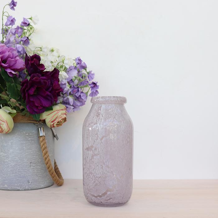 花びん 花瓶 花器 グレー 一輪挿し