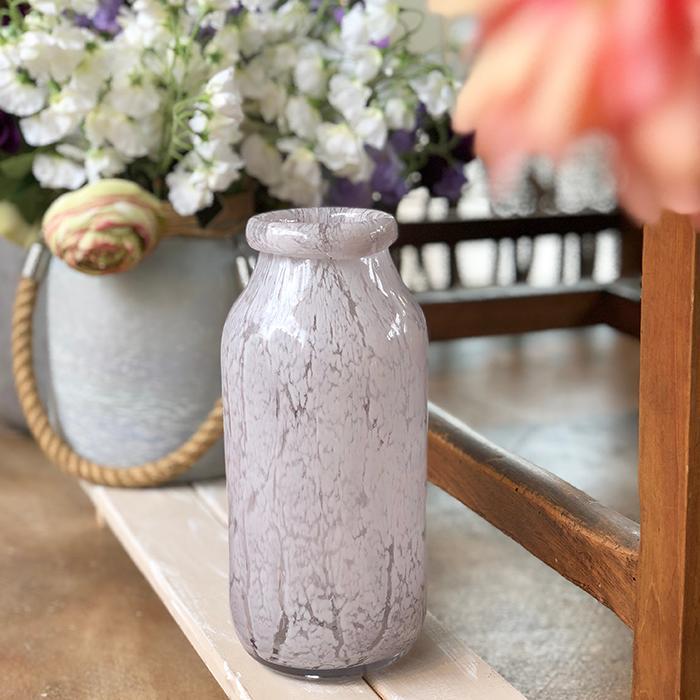 花びん 花瓶 花器 グレー 一輪挿し07