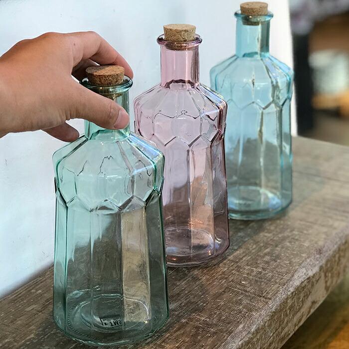 AMAZING クリアボトル ピンク01