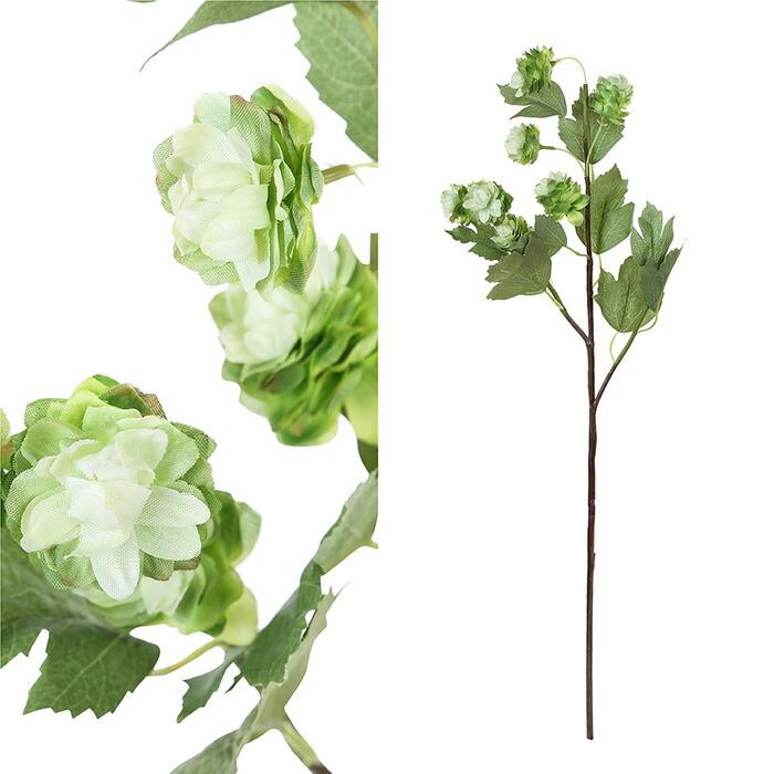 造花 ホップ ホワイト Sサイズ