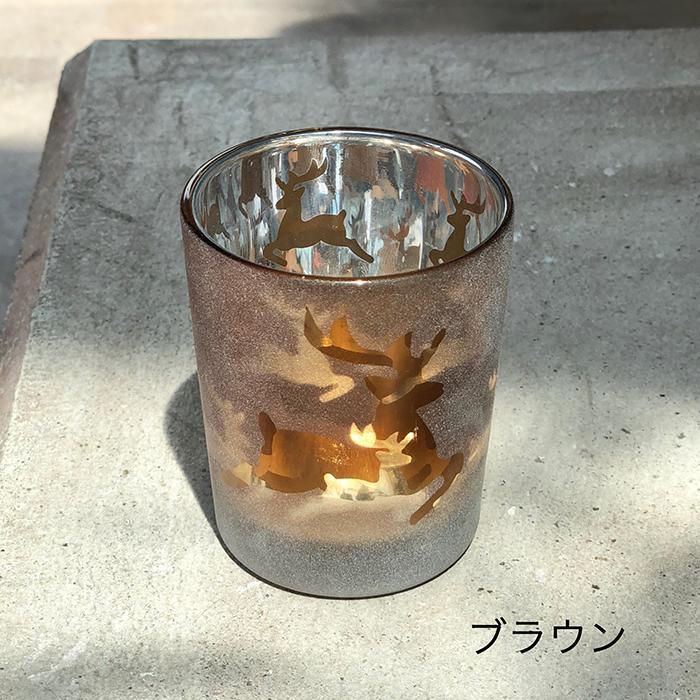 BEHAVE ガラスティーライト レインディア―S/ブラウン10