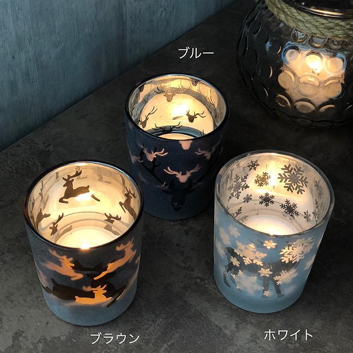 BEHAVE ガラスティーライト レインディア―S/ブラウン02