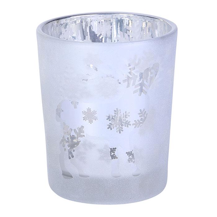BEHAVE ガラスティーライト ディア―S/ホワイト