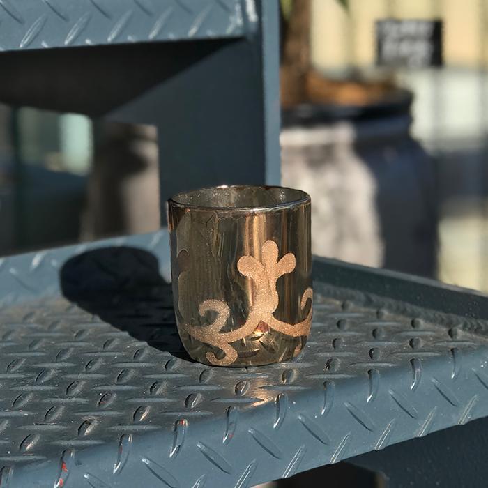 NOEL ガラスティーライトホルダー/カッパー08