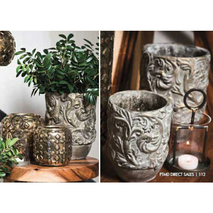 花びん 花瓶 花器 CHIQUEGLAM セラミック ゴールド02