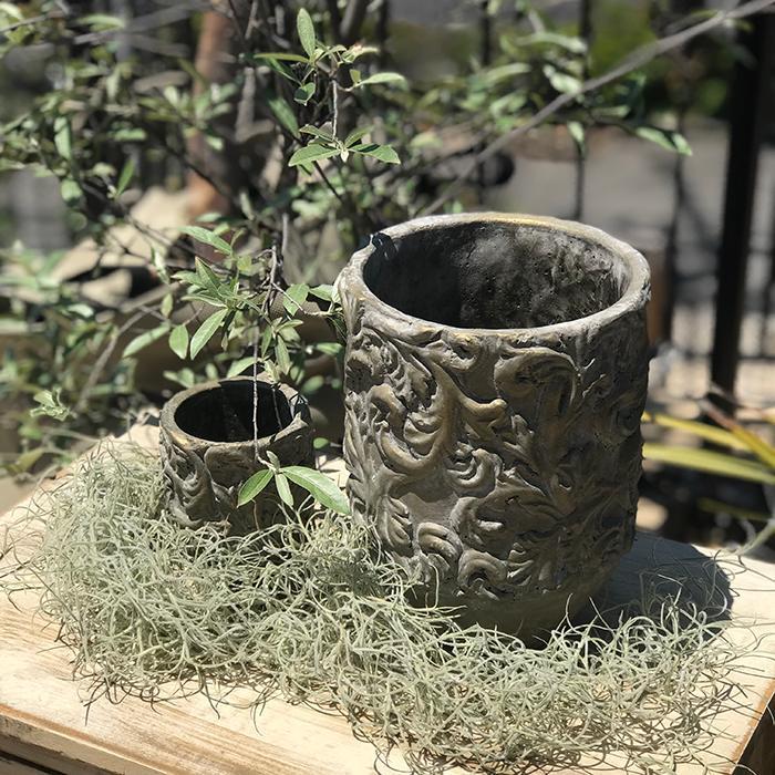 花びん 花瓶 花器 CHIQUEMATT セメント XSサイズ