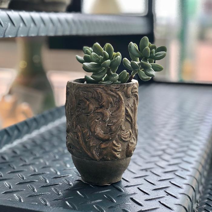 花びん 花瓶 花器 CHIQUEMATT セメント XSサイズ07