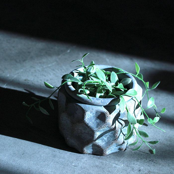 CARIOS 鉢カバー Sサイズ ブラウン セメント  鉢カバー 観葉植物13