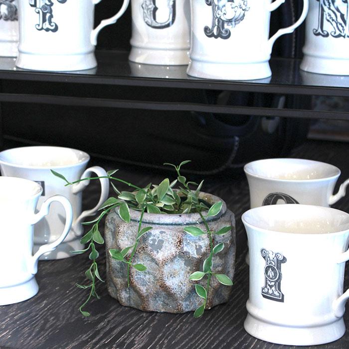 CARIOS 鉢カバー Sサイズ ブラウン セメント  鉢カバー 観葉植物09