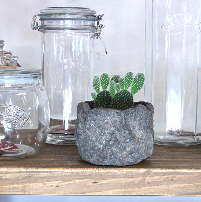 SCAR 鉢カバー XSサイズ グレー セメント  鉢カバー 観葉植物13
