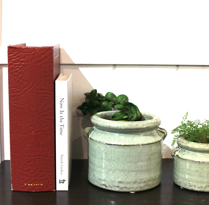 NEV 鉢カバー Sサイズ グリーン 陶器  鉢カバー 観葉植物 アンティーク調13