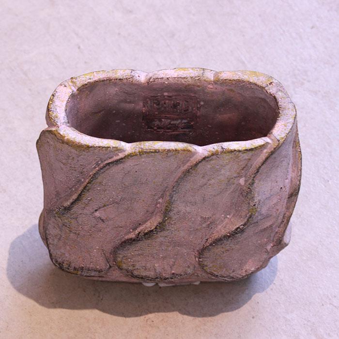 DEC PINK 鉢カバー Sサイズ オーバル型 セメント  鉢カバー 観葉植物06