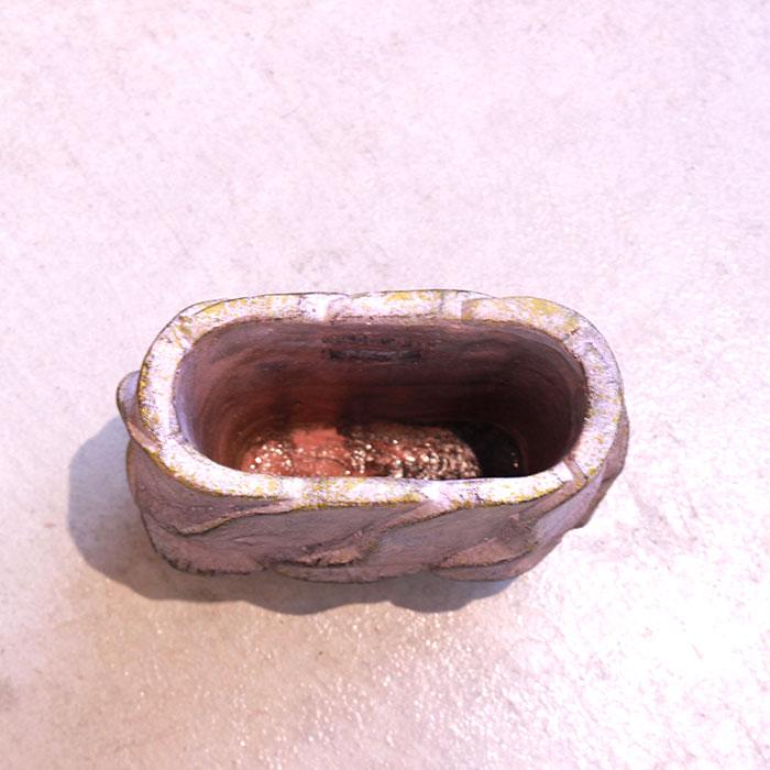 DEC PINK 鉢カバー Sサイズ オーバル型 セメント  鉢カバー 観葉植物07
