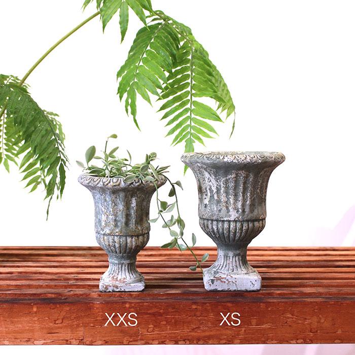 ROGE 鉢カバー XXSサイズ  セメント  鉢カバー 観葉植物 アンティーク調01