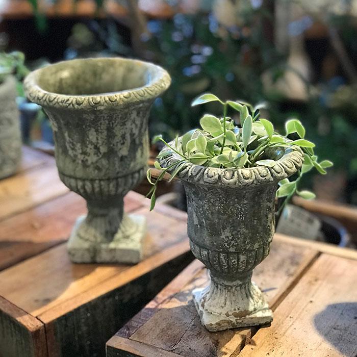 ROGE 鉢カバー XXSサイズ  セメント  鉢カバー 観葉植物 アンティーク調16