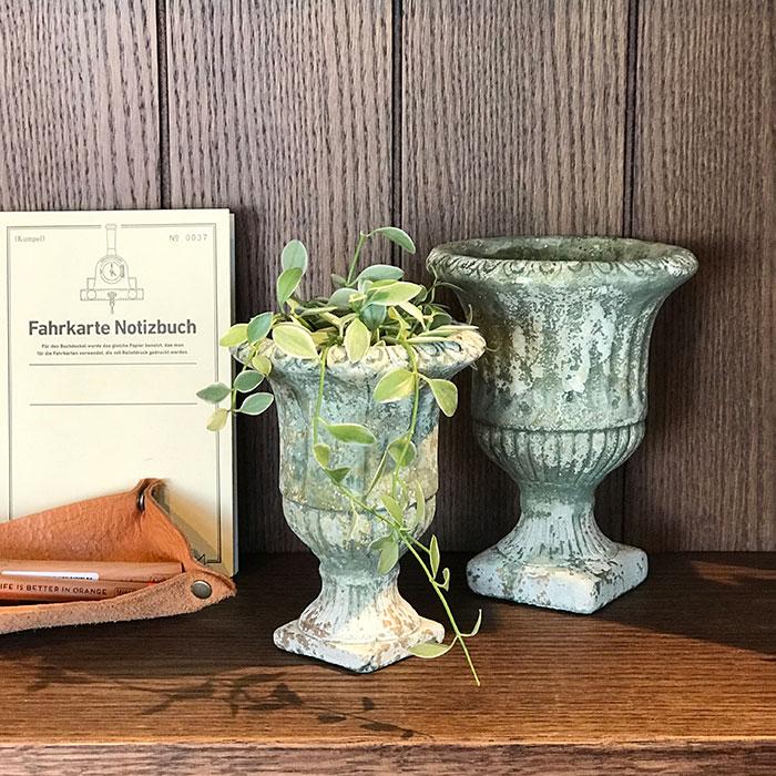 ROGE 鉢カバー XXSサイズ  セメント  鉢カバー 観葉植物 アンティーク調18
