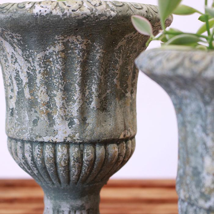 ROGE 鉢カバー XXSサイズ  セメント  鉢カバー 観葉植物 アンティーク調06