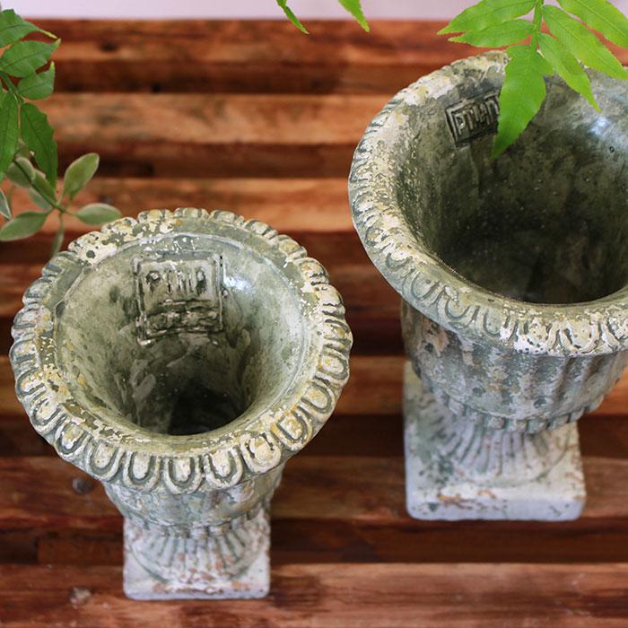 ROGE 鉢カバー XSサイズ  セメント  鉢カバー 観葉植物 アンティーク調10
