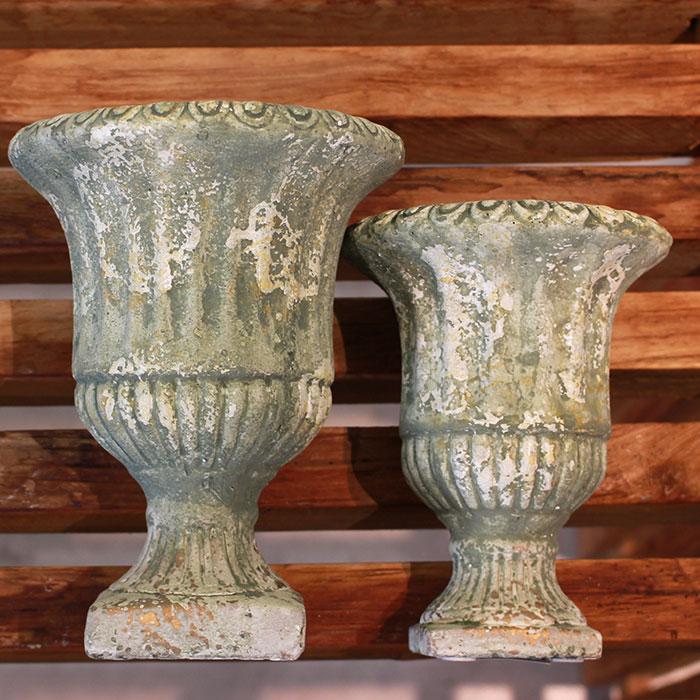 ROGE 鉢カバー XSサイズ  セメント  鉢カバー 観葉植物 アンティーク調03