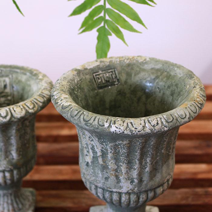 ROGE 鉢カバー XSサイズ  セメント  鉢カバー 観葉植物 アンティーク調08