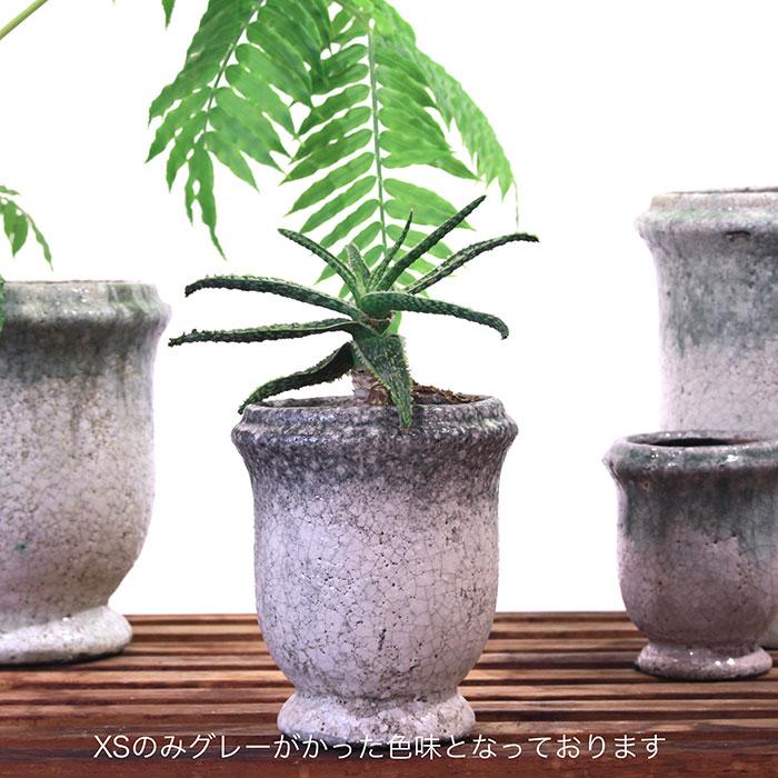 MELS 鉢カバー XSサイズ  陶器 鉢カバー 観葉植物13