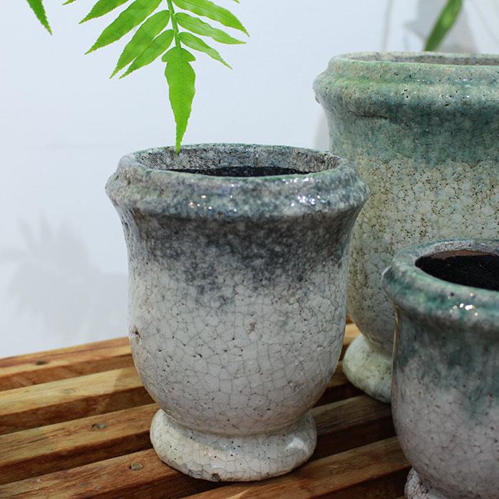 MELS 鉢カバー XSサイズ  陶器 鉢カバー 観葉植物03