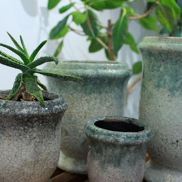 MELS 鉢カバー XSサイズ  陶器 鉢カバー 観葉植物04