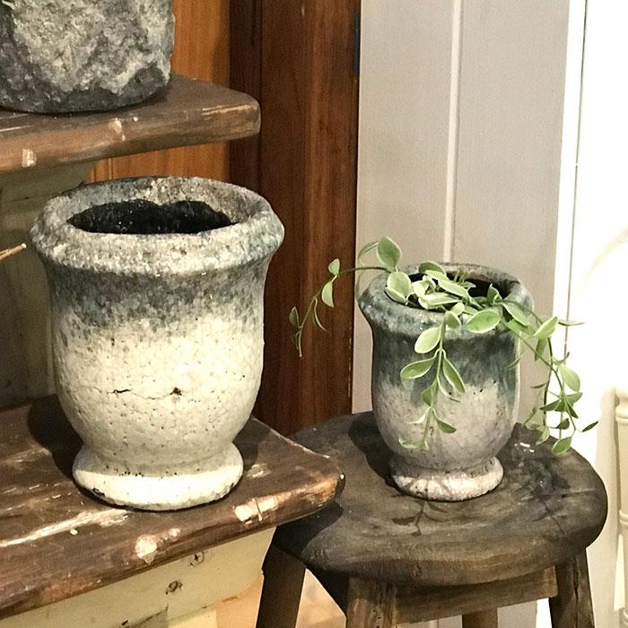 MELS 鉢カバー XSサイズ  陶器 鉢カバー 観葉植物08