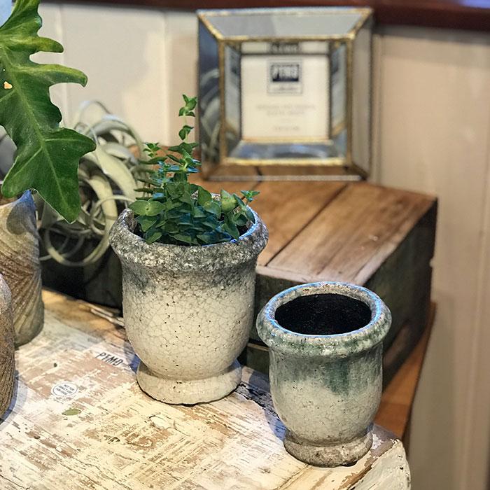 MELS 鉢カバー XSサイズ  陶器 鉢カバー 観葉植物09