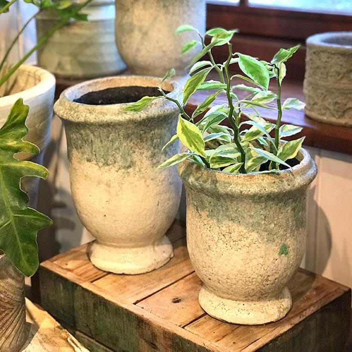 MELS 鉢カバー Sサイズ  陶器  鉢カバー 観葉植物  10