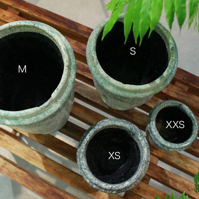 MELS 鉢カバー Sサイズ  陶器  鉢カバー 観葉植物  02