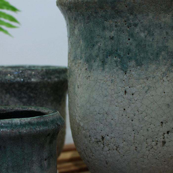 MELS 鉢カバー Sサイズ  陶器  鉢カバー 観葉植物  04