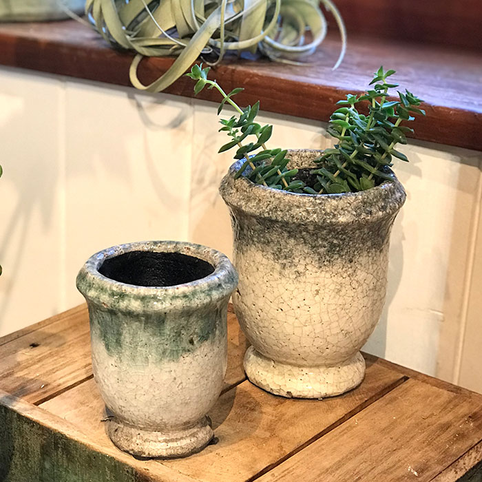 MELS 鉢カバー Sサイズ  陶器  鉢カバー 観葉植物  08