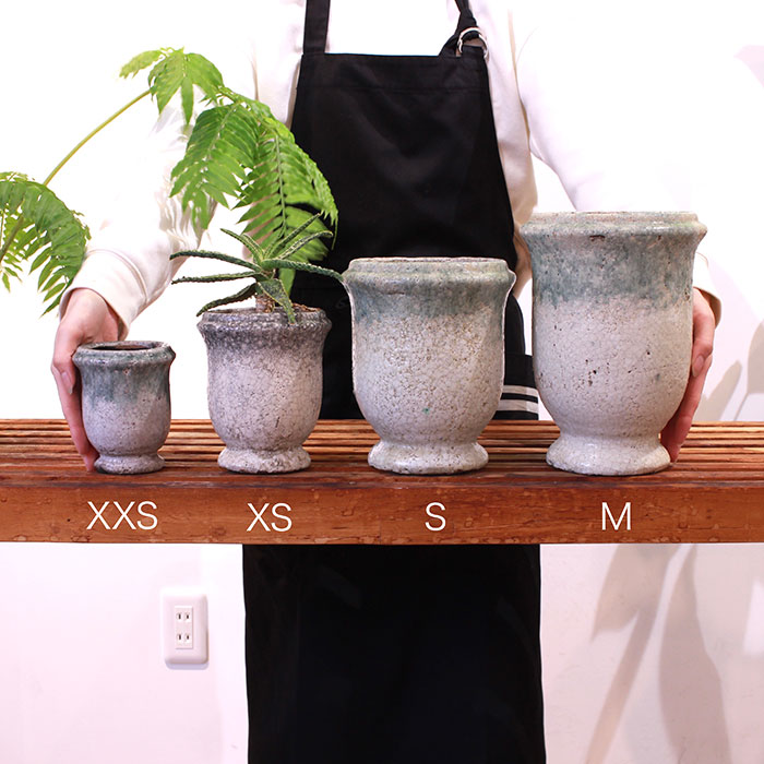 MELS 鉢カバー Mサイズ  陶器  鉢カバー 観葉植物01