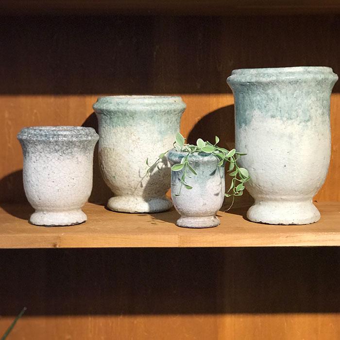 MELS 鉢カバー Mサイズ  陶器  鉢カバー 観葉植物10
