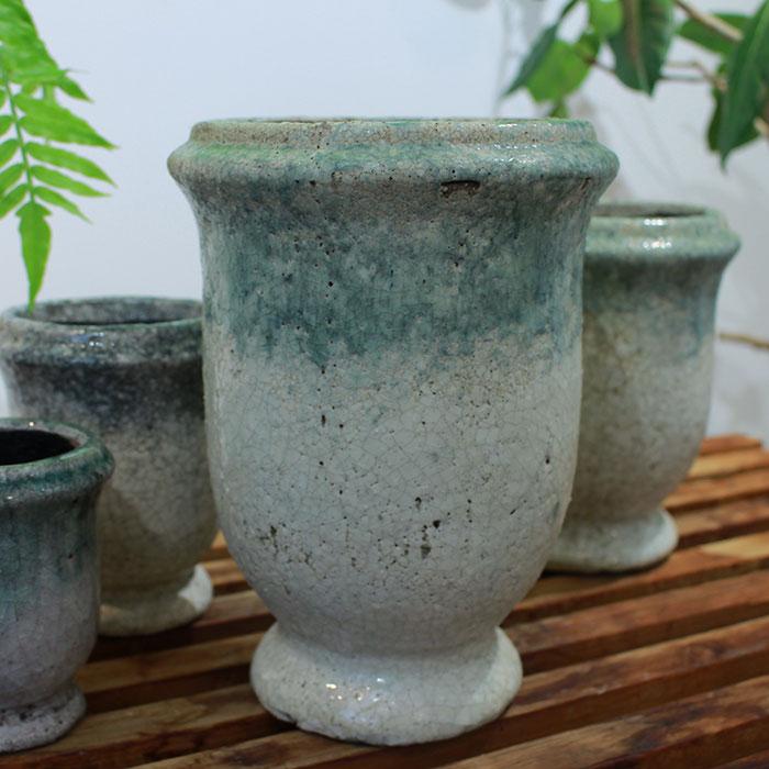 MELS 鉢カバー Mサイズ  陶器  鉢カバー 観葉植物03